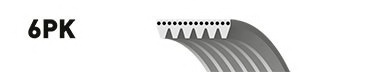 Ремень генератора Peugeot Expert Citroen Jumpy 1.9D TD 96- 2.0HDI 00-