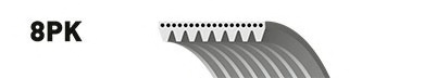 Ремень генератора Mazda 3 5 6 2.0 DI CD 02-10
