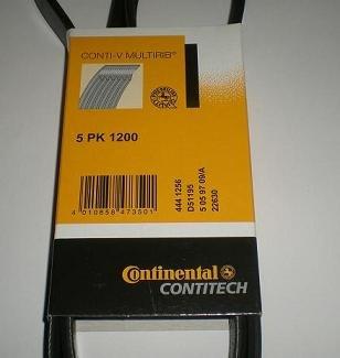 Ремінь генератора 5PK1200 Movano2.8DTI 98>02 AC/Master II 2.5D/2.8DTI 98>01 ALT