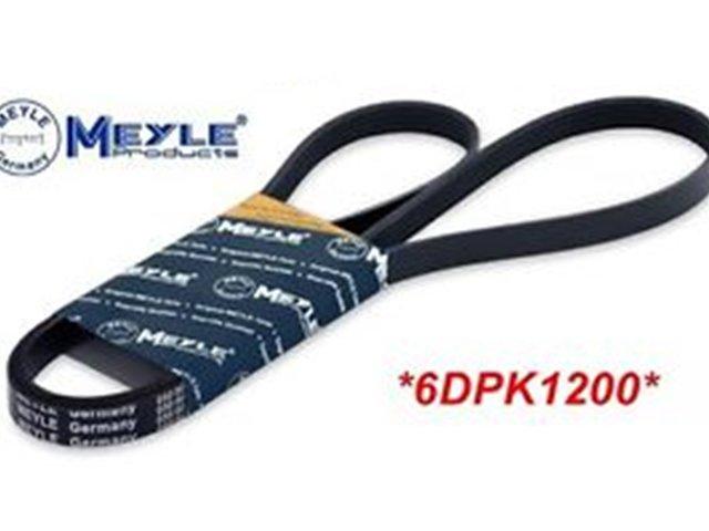 Ремінь генератора 6DPK1200 T5 1.9TDI ( AC)