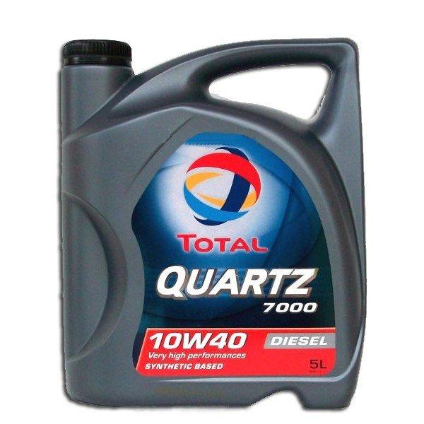 Мастило TOTAL QUARTZ Diesel 7000 10W40 5л