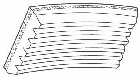 Ремінь генератора 5PK1125 Trafic 1.9DCI 01> ALT, PS